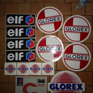 Glorex -Elf -Antar -pompe essence