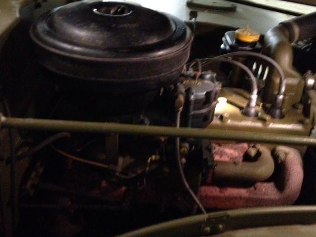 Dodge command car WC57 moteur