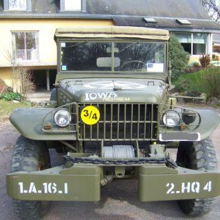 Dodge command car WC57 avant