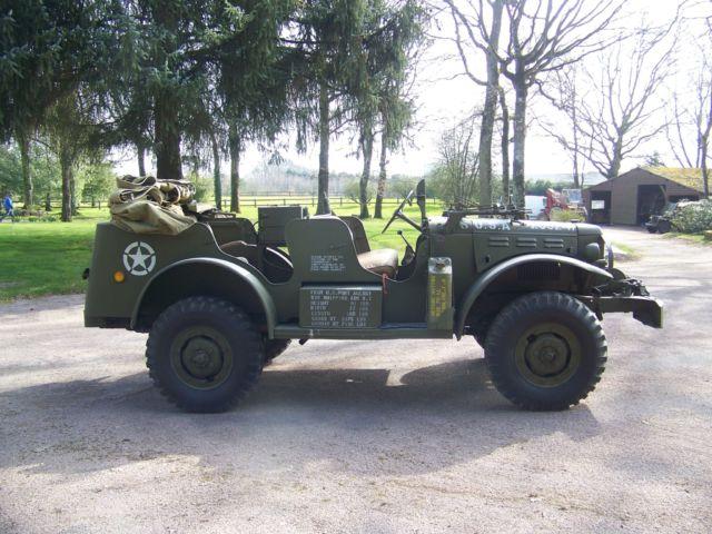 Dodge command car WC57 coté
