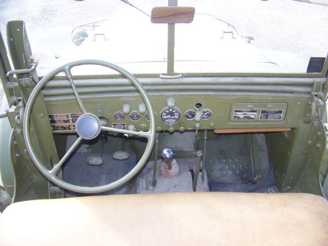 Dodge command car WC57 poste conduite