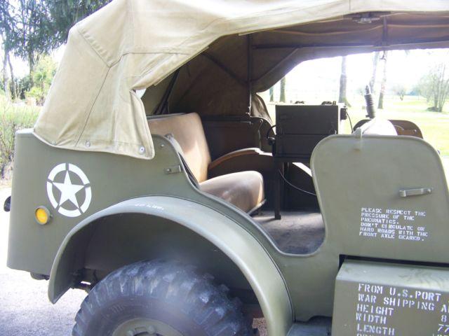 Dodge command car WC57