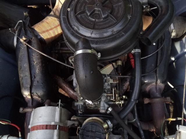 Citroen -2CV6 -Moteur bon état